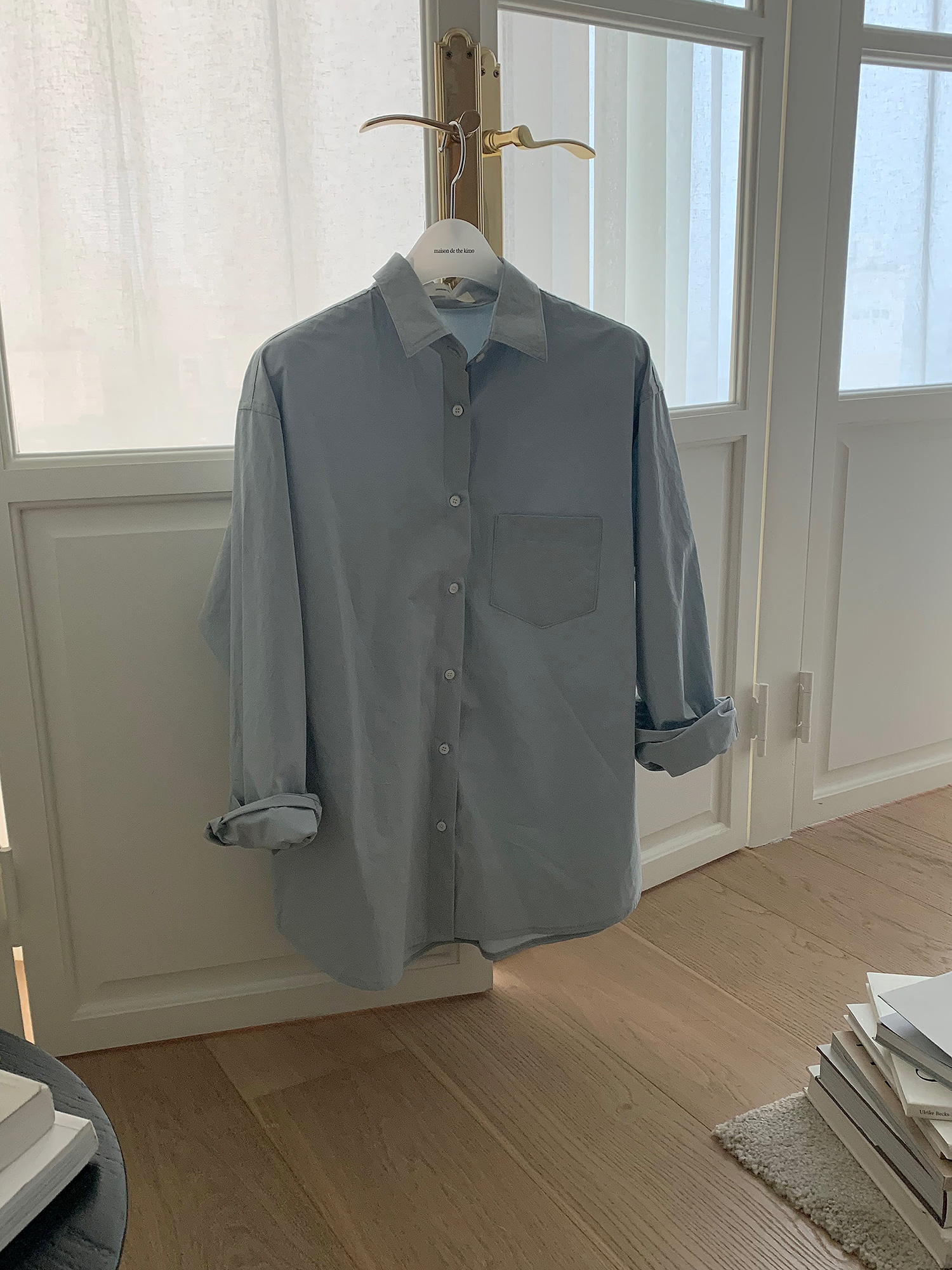 French shirts (baby blue 3차 리오더 입고)