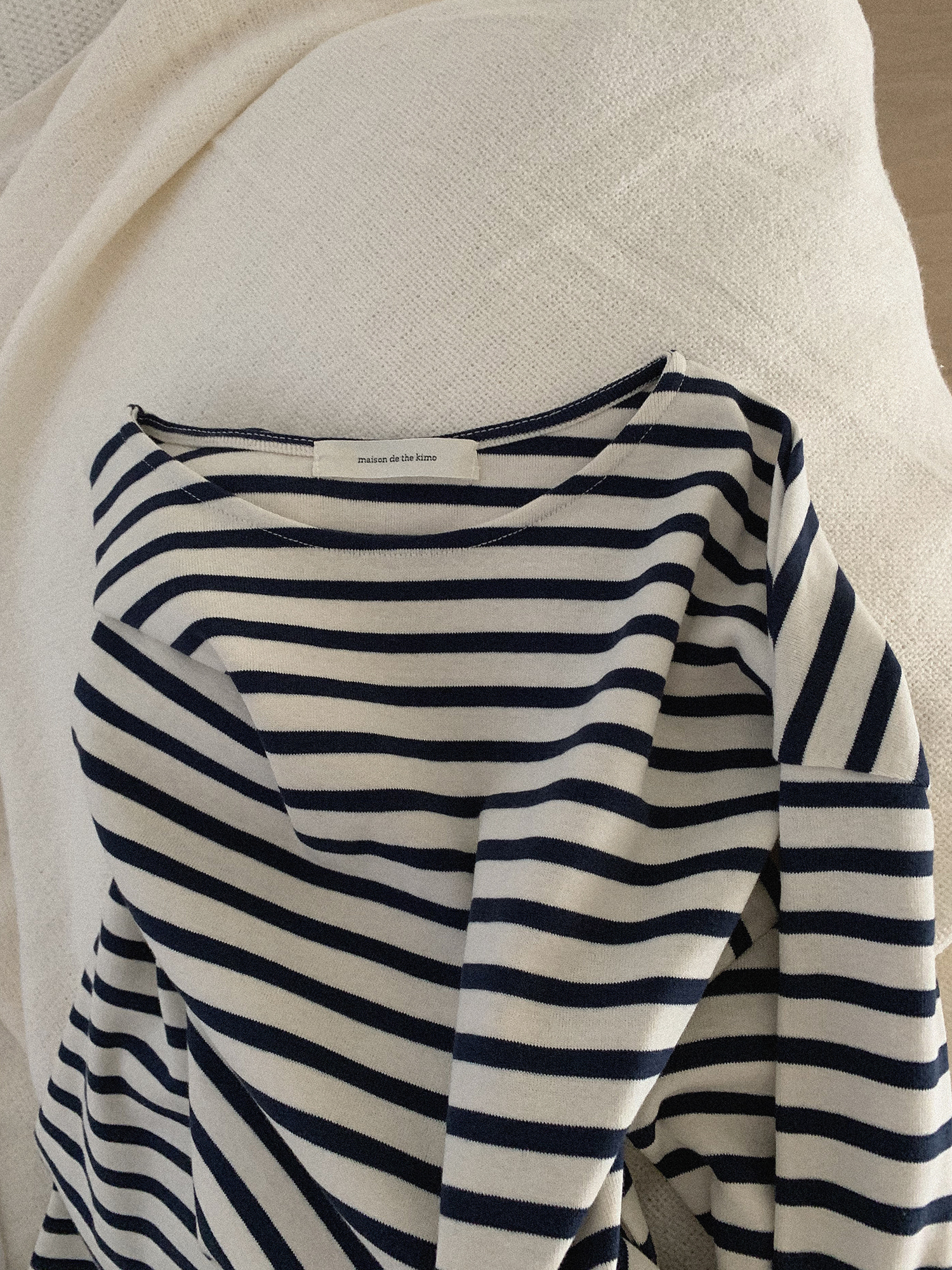 Evening t-shirts (Stripe) (3차 리오더 입고)